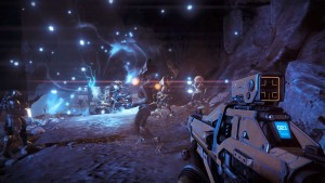 Guardians fighting the Vex