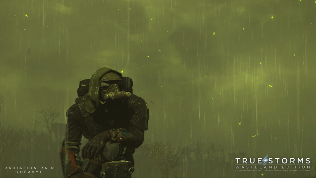 "Credit to ""FadingSignal"" as he shows the beauty in Fallout's Storms through his True Storms Mod"