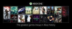 Xbox One Lineup