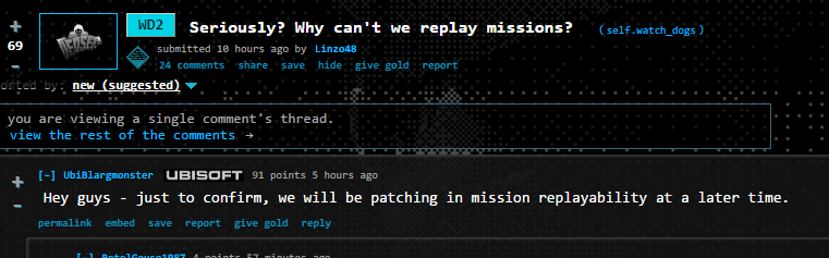 How To Replay Certain Missions Watch Dogs