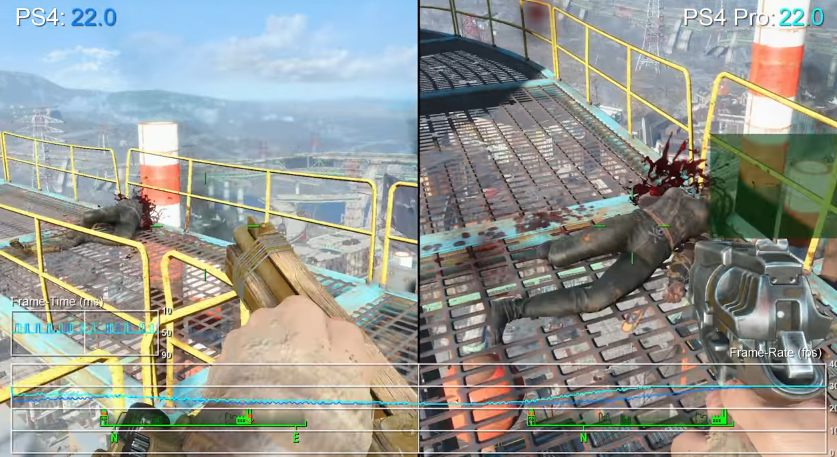 Fallout 4 Framerate Can Still Drop To 22FPS With The PS4 Pro Patch ...