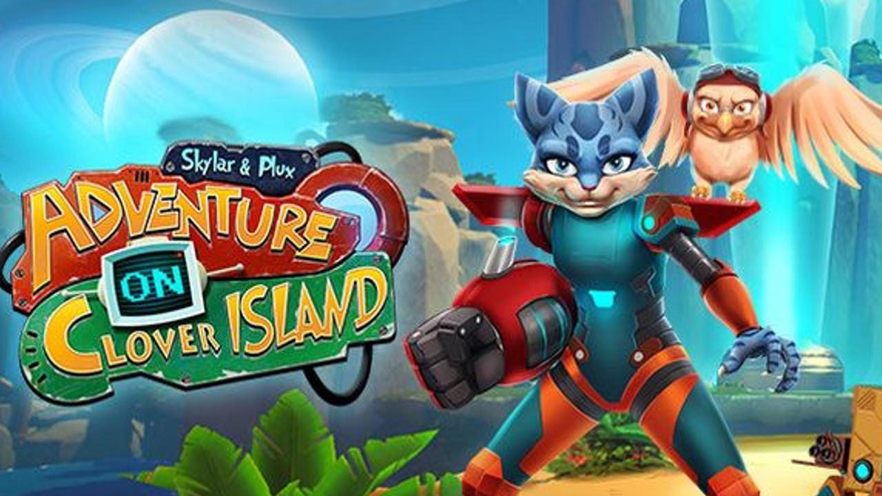 Skylar and Plux: Adventure on Clover Island