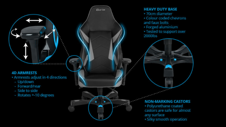 Excellent Clutch Chairz Shift Series Mid Sized Gaming Chair Review Pdpeps Interior Chair Design Pdpepsorg