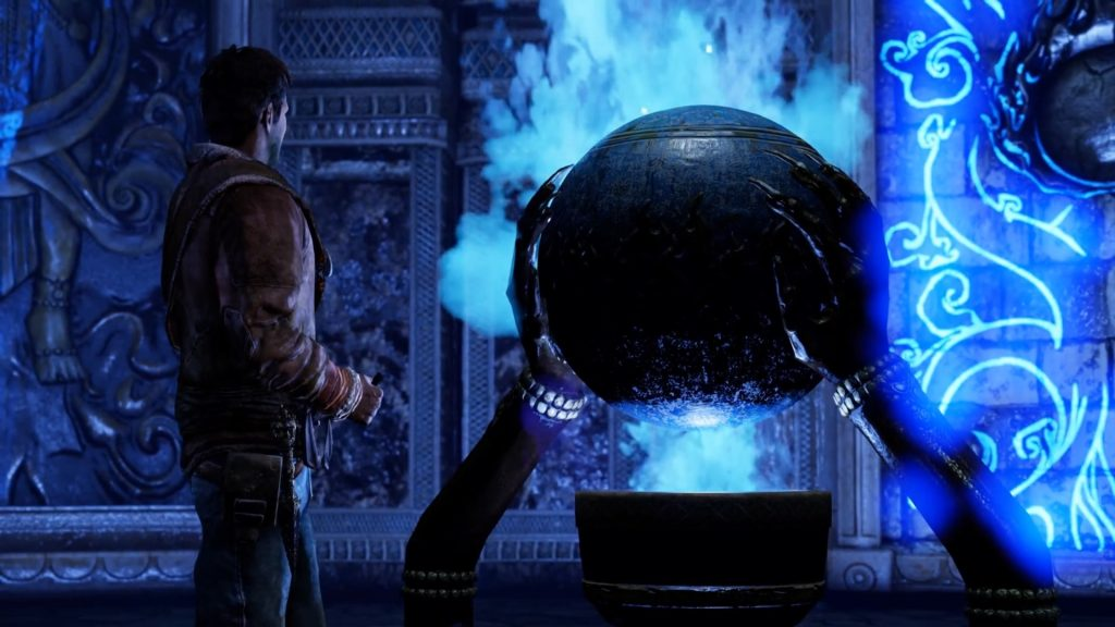 Uncharted: Among Thieves--Blue Orb
