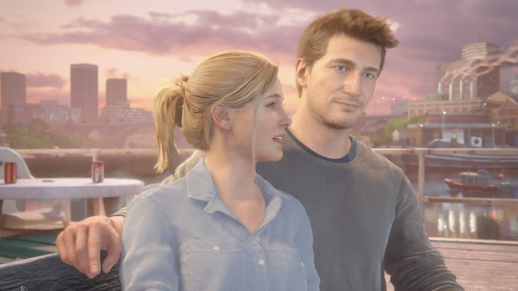 Uncharted 4: A Thief's End--Nate and Elena