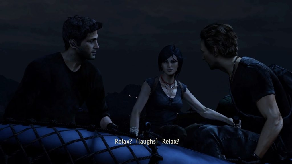 Uncharted: Among Thieves--Chloe, Nate, Flynn