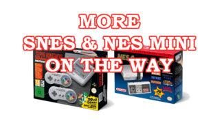 SNES and NES MINI