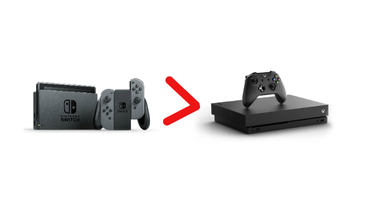 switch better than Xbox one