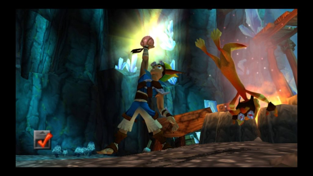 Jak collects orb