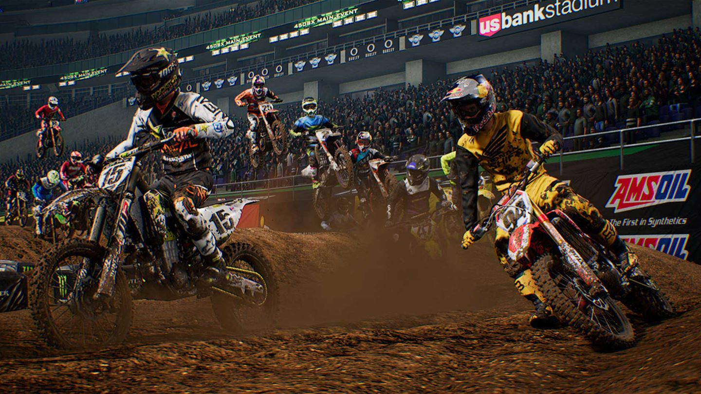 monster energy supercross review xbox one thisgengaming. Black Bedroom Furniture Sets. Home Design Ideas