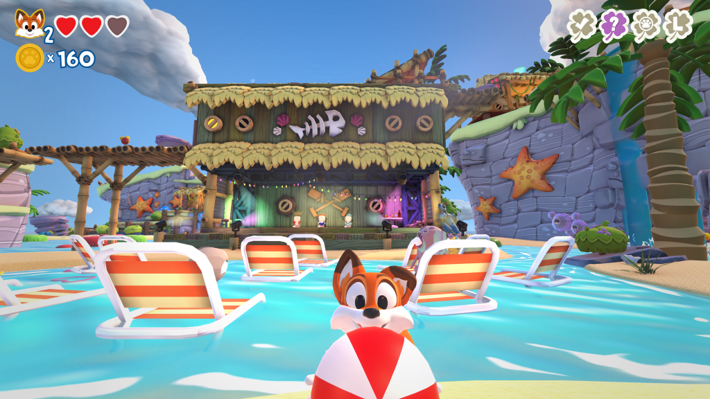 Super Lucky's Tale tropical