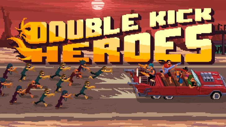 Double kick heroes Title