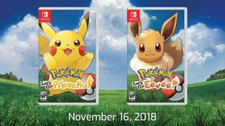Pokemon Let's Go! Pikachu and Eevee