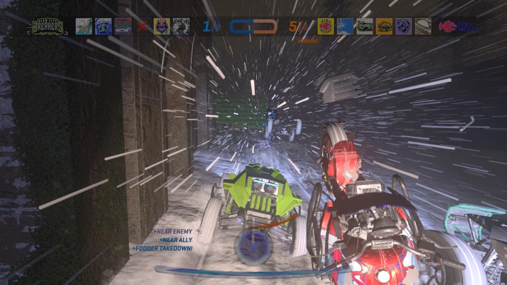 ONRUSH blizzard