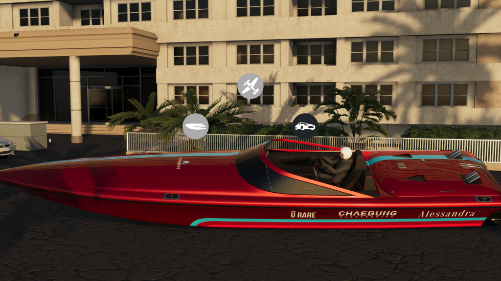 The Crew® 2 Beta ‎boat on dry land