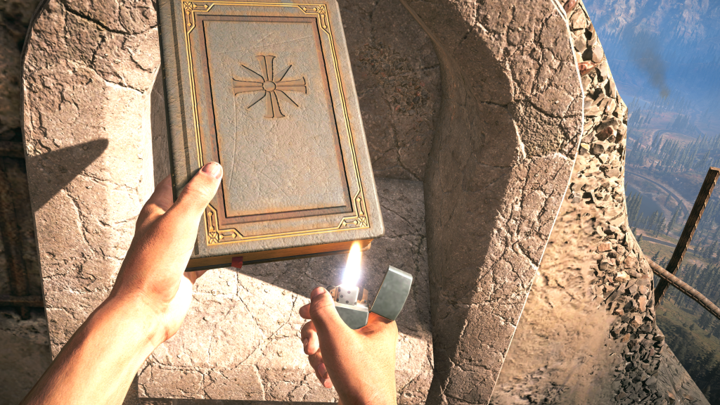 Far Cry 5 Burn the book