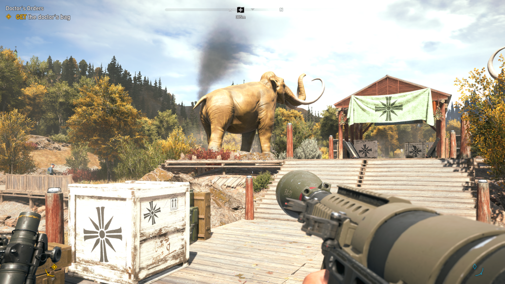 Far Cry 5 Elephant fart