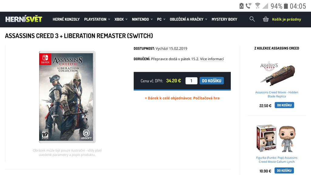 Assassin's Creed III + Liberation Collection