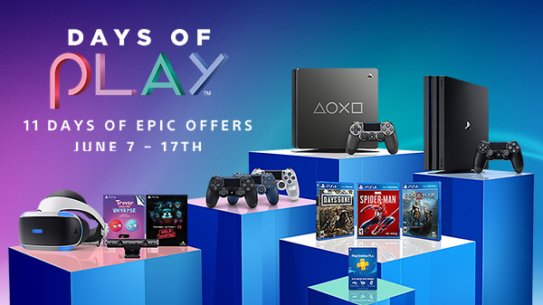 playstation days of play 2019