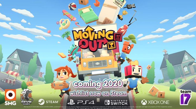 Ps4 Couch Co Op Games 2020.Chaotic Co Op Game Moving Out Is Coming To Ps4 Xbox One