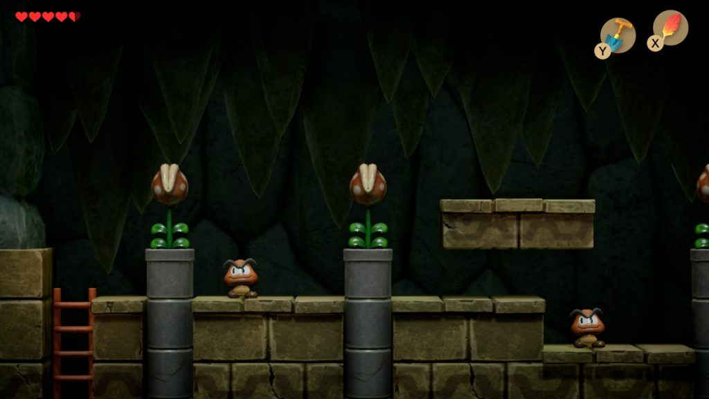 Goomba's and piranha-plants