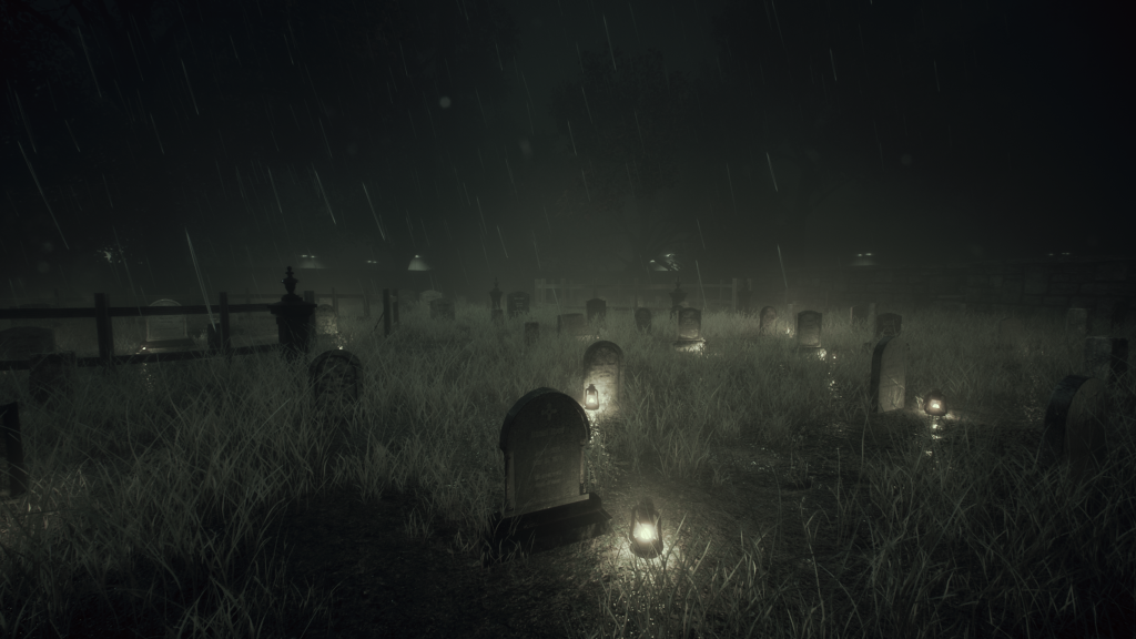 Curse of Annabelle Game - Graveyard
