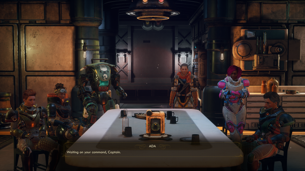 The Outer Worlds - Your Crew
