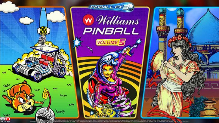 Pinball FX3: Williams Pinball - Volume 5