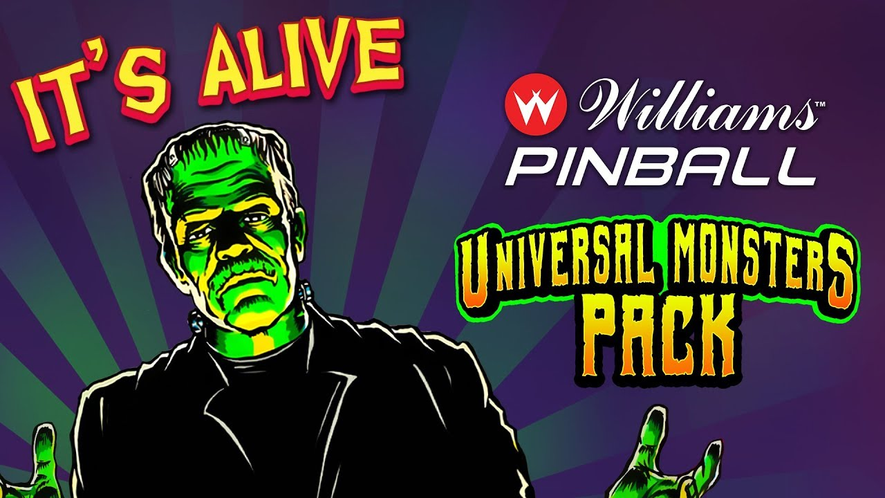 Williams Pinball: Universal Monsters Pack
