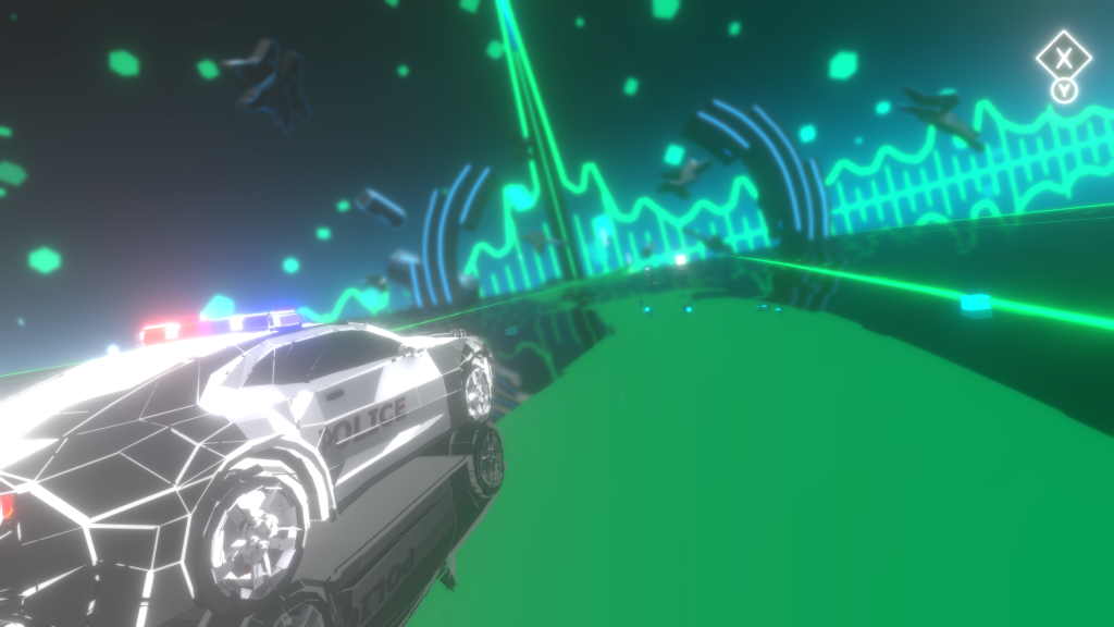 Music Racer - Police car
