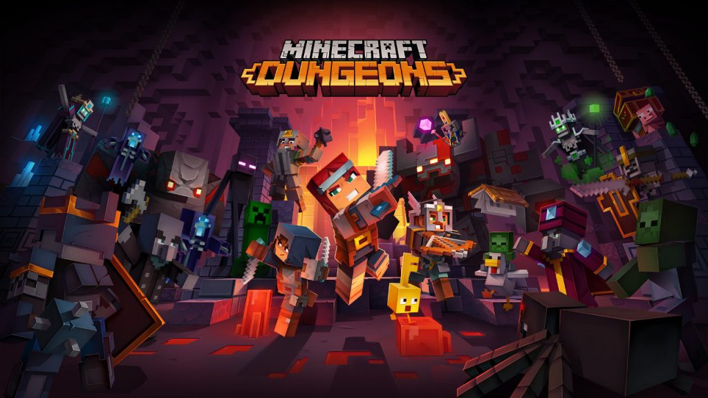 Minecraft Dungeons Upcoming Nintendo Switch Game 2020