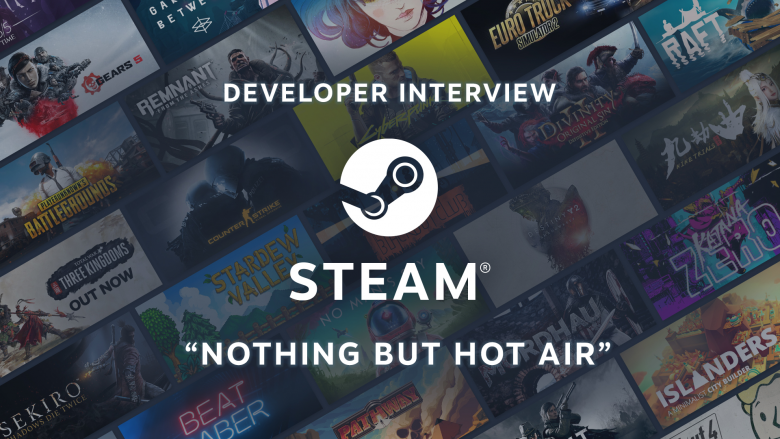 Steam is nothing but Hot Air