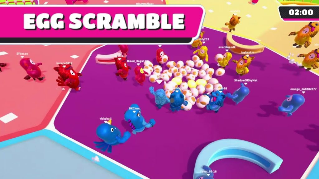 Egg Scramble Fall Guys How to Win Strategy Guide Tips and Tricks